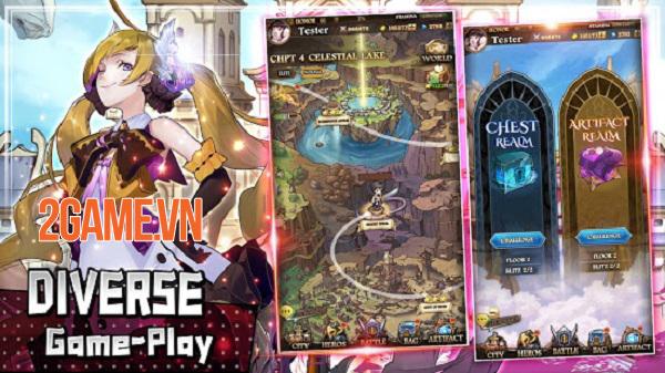 Final Fate TD - Game chiến thuật thủ tháp bối cảnh anime đẹp mắt 0