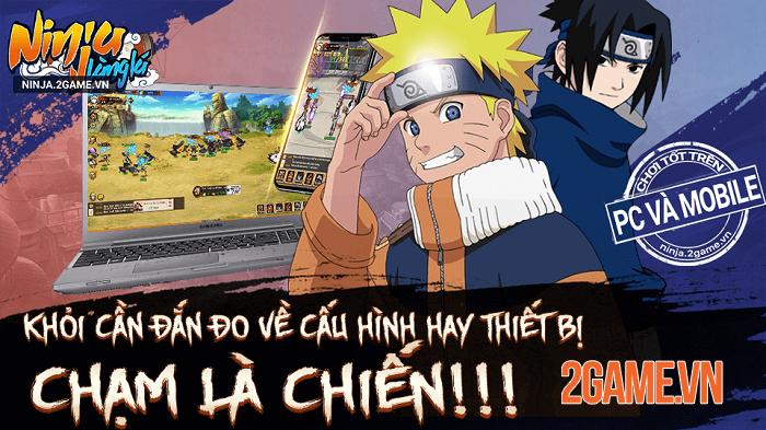 6 lý do khiến fan Naruto nên chơi ngay Ninja Làng Lá Mobile 5