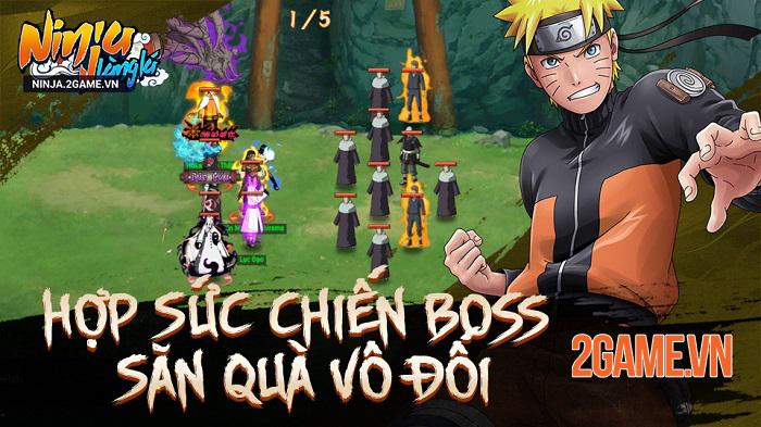 6 lý do khiến fan Naruto nên chơi ngay Ninja Làng Lá Mobile 3