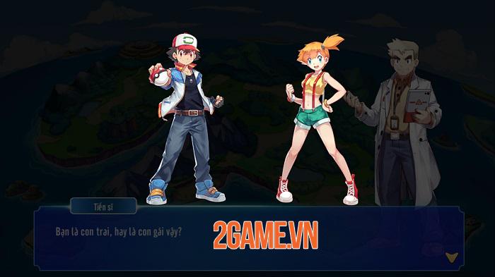 Poke M nổi bật chất cổ điển trong đồ họa, chuyên sâu về hệ thống Pokemon 0