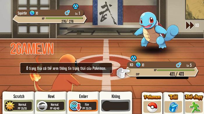 Poke M nổi bật chất cổ điển trong đồ họa, chuyên sâu về hệ thống Pokemon 1