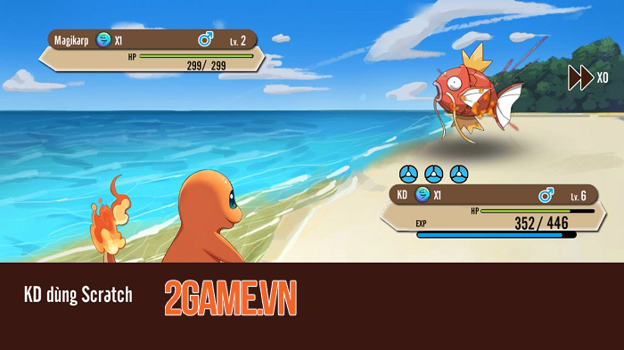 Poke M nổi bật chất cổ điển trong đồ họa, chuyên sâu về hệ thống Pokemon 3