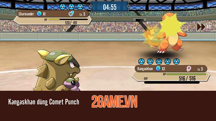 Poke M nổi bật chất cổ điển trong đồ họa, chuyên sâu về hệ thống Pokemon 4