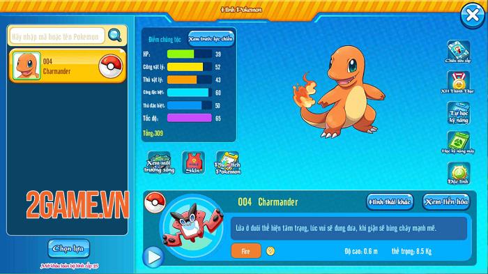 Poke M nổi bật chất cổ điển trong đồ họa, chuyên sâu về hệ thống Pokemon 6