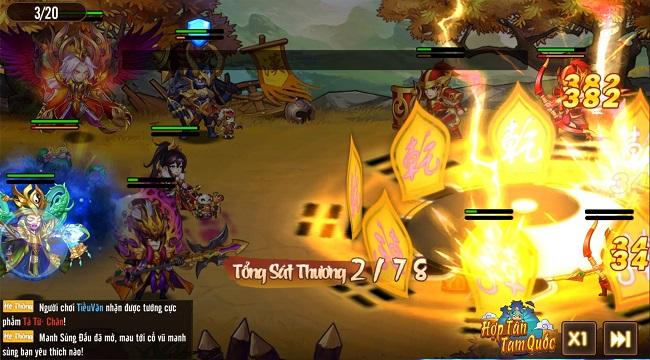 Hợp Tân Tam Quốc – Game đấu tướng đồ họa chibi sắp ra mắt