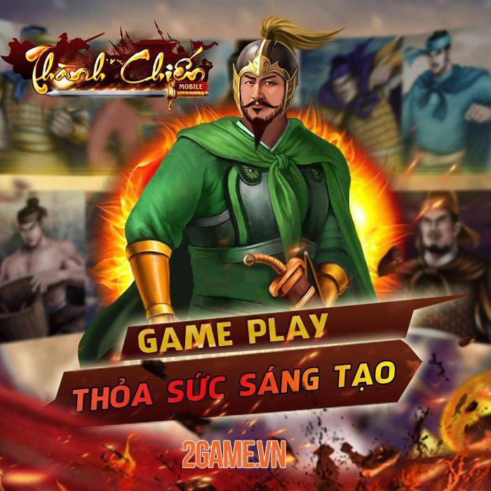 Thành Chiến Mobile - Game chiến thuật thời gian thực với hình ảnh thuần Việt 0