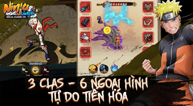 Bạn không cần phải chiến đấu một mình trong Ninja Làng Lá Mobile