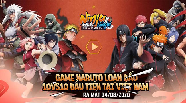 Game Ninja Làng Lá Mobile ấn định thời điểm ra mắt