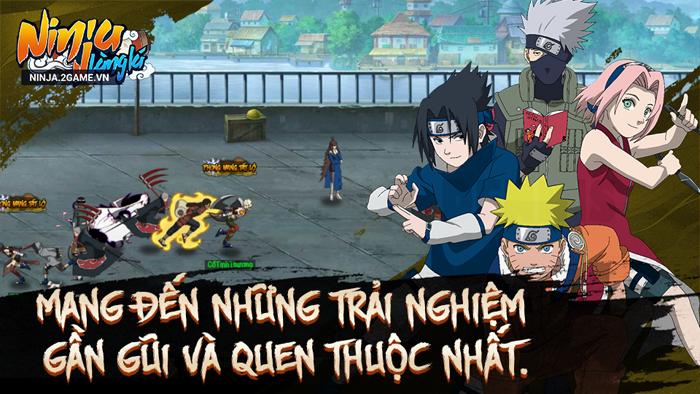 Ninja Làng Lá Mobile mang đến những khung cảnh Naruto vô cùng quen thuộc 4