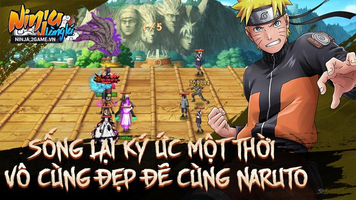 Ninja Làng Lá Mobile mang đến những khung cảnh Naruto vô cùng quen thuộc 3