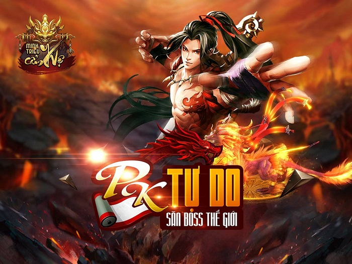 Game mobile Minh Triều Cẩm Y Vệ bùng nổ với phiên bản Big Update 0