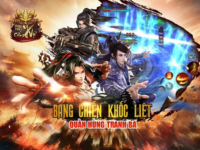 Game mobile Minh Triều Cẩm Y Vệ bùng nổ với phiên bản Big Update 1