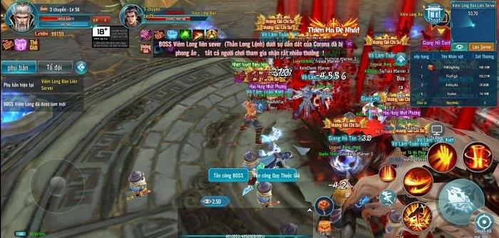 Game mobile Minh Triều Cẩm Y Vệ bùng nổ với phiên bản Big Update 2