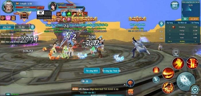 Game mobile Minh Triều Cẩm Y Vệ bùng nổ với phiên bản Big Update 3