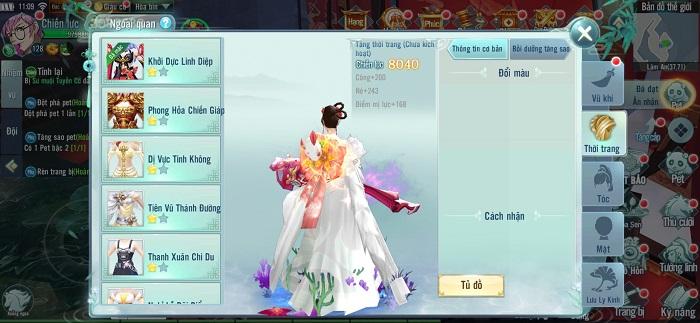 Big Update Nhất Kiếm Giang Hồ mang đến một kinh đô thời trang hoa lệ 2