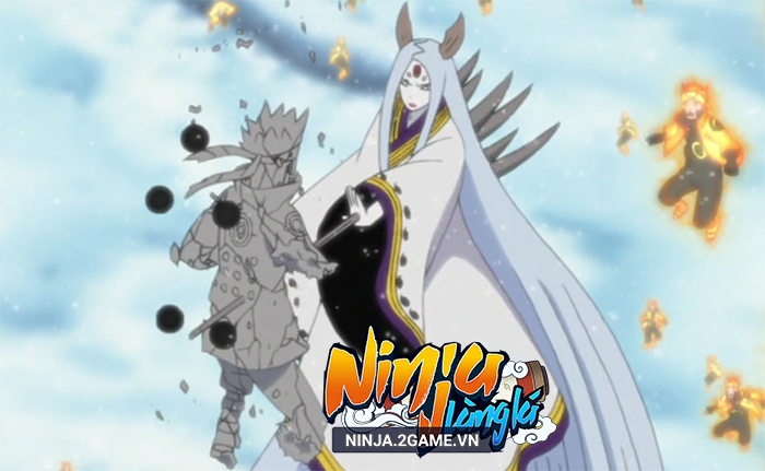 Ninja Làng Lá Mobile: Cận cảnh sức mạnh của tổ mẫu giới nhẫn giả Kaguya 1