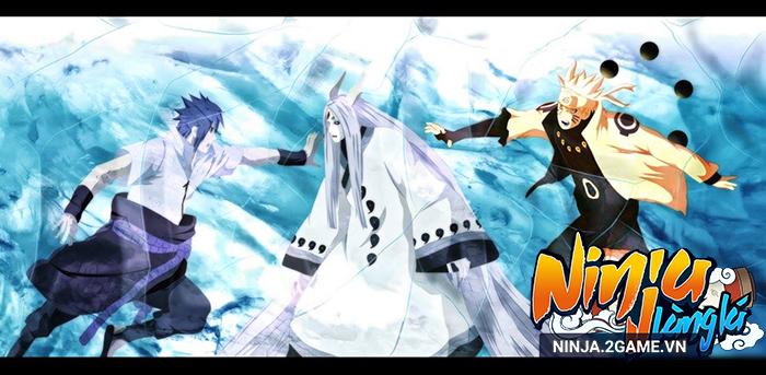Ninja Làng Lá Mobile: Cận cảnh sức mạnh của tổ mẫu giới nhẫn giả Kaguya 2