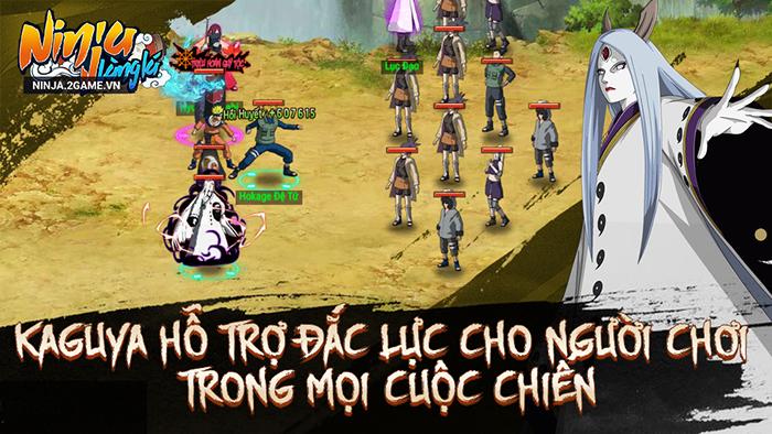 Ninja Làng Lá Mobile: Cận cảnh sức mạnh của tổ mẫu giới nhẫn giả Kaguya 4
