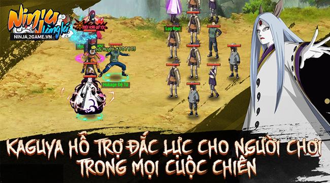 Ninja Làng Lá Mobile: Cận cảnh sức mạnh của tổ mẫu giới nhẫn giả Kaguya