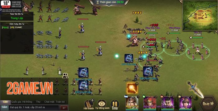 Trải nghiệm Tam Quốc Công Thành H5: Game điều binh khiển tướng siêu chất 7