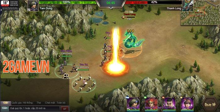 Trải nghiệm Tam Quốc Công Thành H5: Game điều binh khiển tướng siêu chất 2