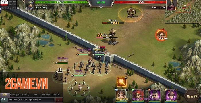 Trải nghiệm Tam Quốc Công Thành H5: Game điều binh khiển tướng siêu chất 9