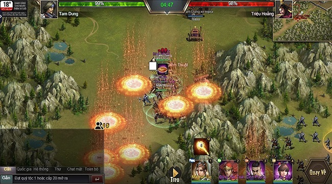 Trải nghiệm Tam Quốc Công Thành H5: Game điều binh khiển tướng siêu chất