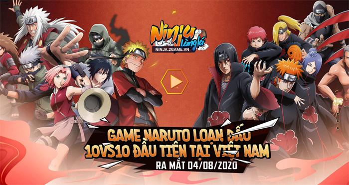 Ninja Làng Lá Mobile tặng VIP 8, Tướng đỏ ngay khi vào game 6