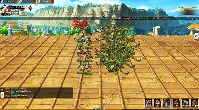 Ninja Làng Lá Mobile thâu tóm trọn vẹn thế giới Naruto rộng lớn