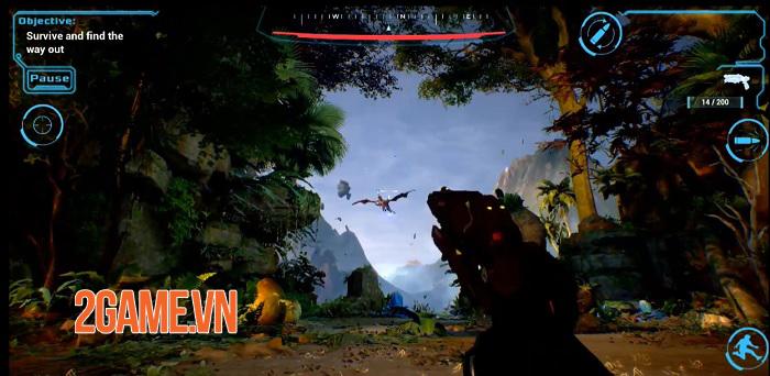 TauCeti Vulkan Technology Benchmark - Game FPS khoa học viễn tưởng cực chất 0