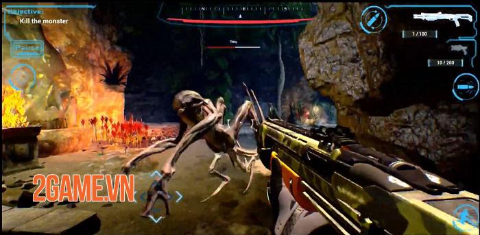 TauCeti Vulkan Technology Benchmark - Game FPS khoa học viễn tưởng cực chất 2