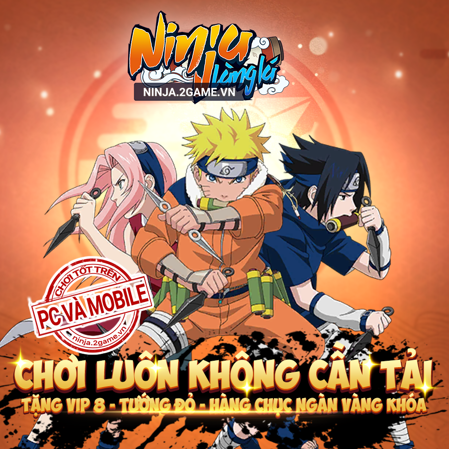 Tặng 999 giftcode game Ninja Làng Lá Mobile 0