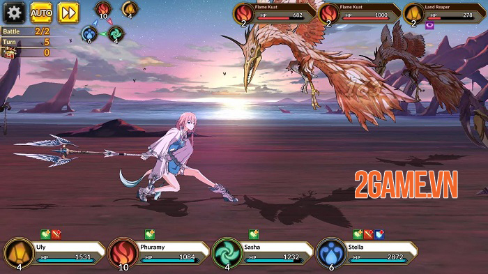 Idola Phantasy Star Saga - Game mobile nhập vai từ series Phantasy Star Saga 2