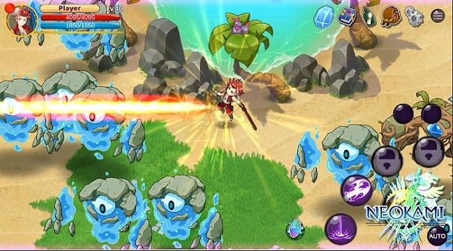 Neokami – Game nhập vai hành động với các kỹ năng chiến đấu độc đáo