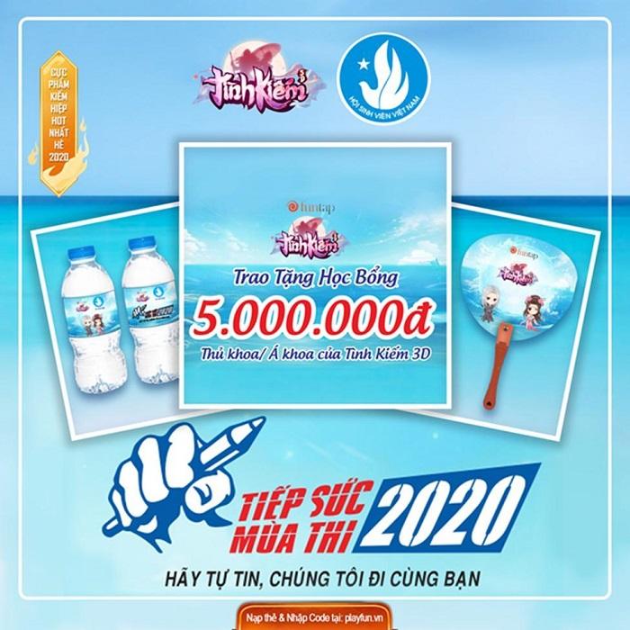 Tình Kiếm 3D trở thành thương hiệu đặc biệt hợp tác cùng Thành đoàn Hà Nội 3