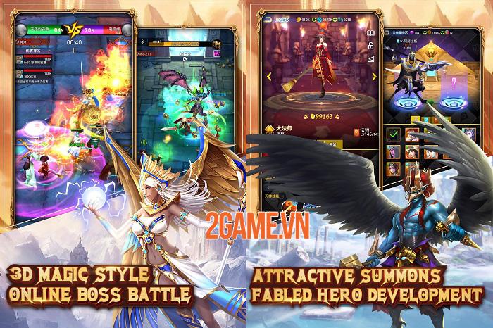 Idle Mythos - Game nhập vai nhàn rỗi phong cách huyền thoại có yếu tố chiến thuật 1