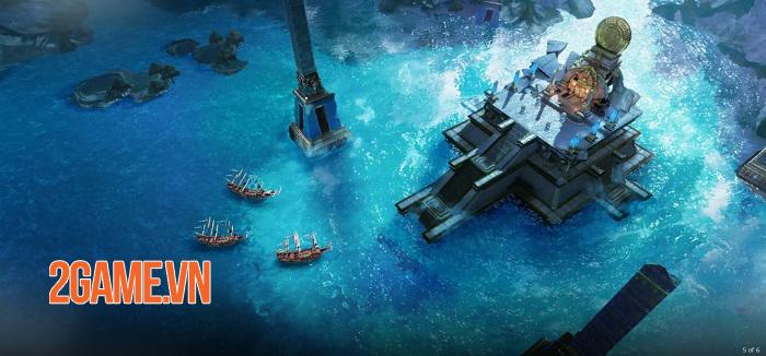Sea of Dawn - Game mobile đề tài hải quân lấy cảm hứng từ Uncharted Waters 4