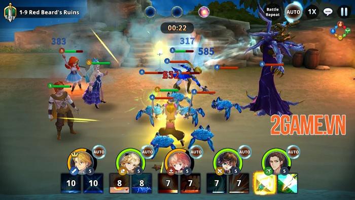Epic Souls : World Arena - Quy tụ mọi câu chuyện nổi tiếng trên thế giới 2