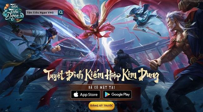 Bom tấn Tân Tiếu Ngạo VNG đã xuất hiện trên App Store chỉ còn chờ ngày ra game!