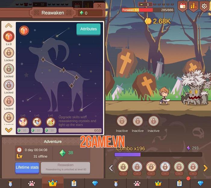 Click Chronicles 2 - Game Idle RPG có đồ họa hoạt hình đậm chất nghệ thuật 2