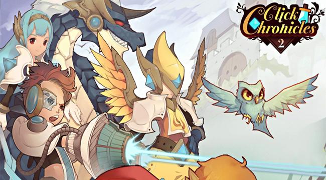 Click Chronicles 2 – Game Idle RPG có đồ họa hoạt hình đậm chất nghệ thuật