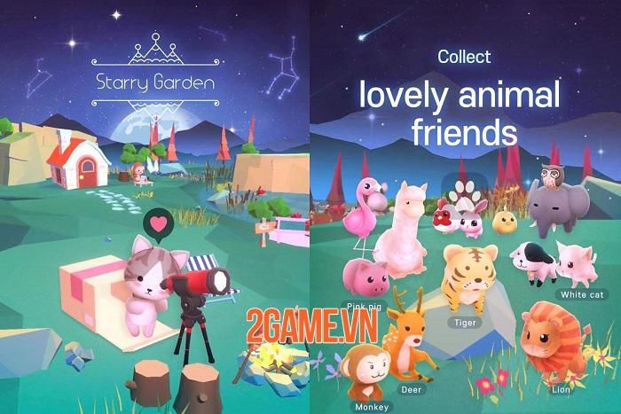 Starry Garden - Tựa game giải trí đơn giản, dễ chơi và giàu cảm xúc 0