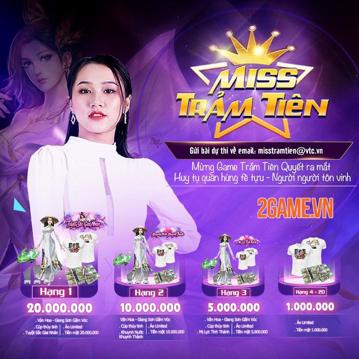 Chưa ấn định ra mắt mà Trảm Tiên Quyết đã siêu hot với cuộc thi sắc đẹp online 2