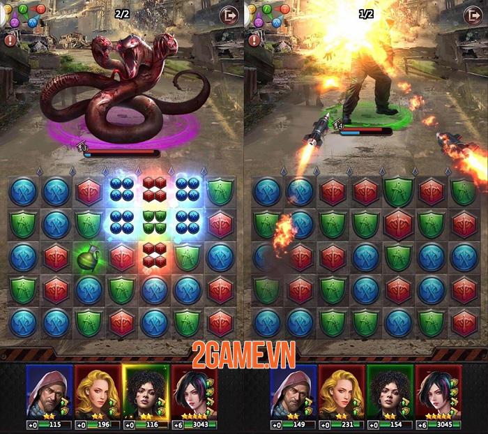 Zombie Puzzles Quest - Giải quyết các puzzle để tiêu diệt zombie 2