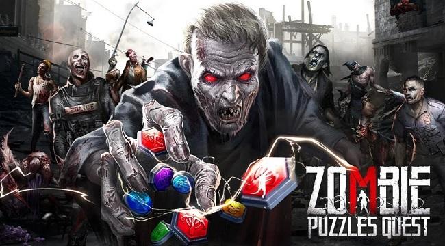 Zombie Puzzles Quest – Giải quyết các puzzle để tiêu diệt zombie