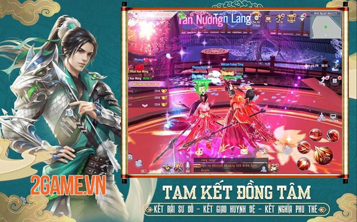 Phong Khởi Trường An - Game nhập vai PK cả ngày săn Boss xuyên đêm sắp ra mắt 3