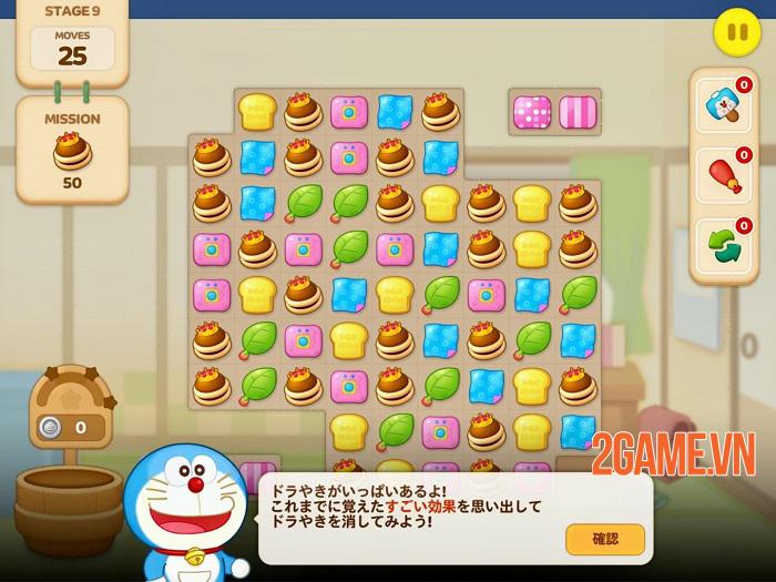 LINE: Doraemon Park - Game puzzle lấy cảm hứng từ  Doraemon 2