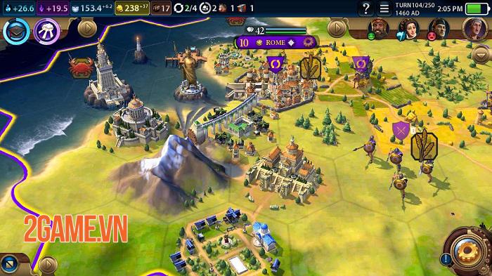 Civilization VI - Game chiến thuật với gameplay đồ sộ tưởng không thể chơi trên mobile 1
