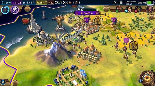 Civilization VI – Game chiến thuật với gameplay đồ sộ tưởng không thể chơi trên mobile