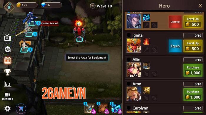 Guardians of Castle - RPG thủ tháp hardcore 3D chất lượng cao 0